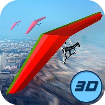 amazon com real hang gliding flying simulator aerial rush