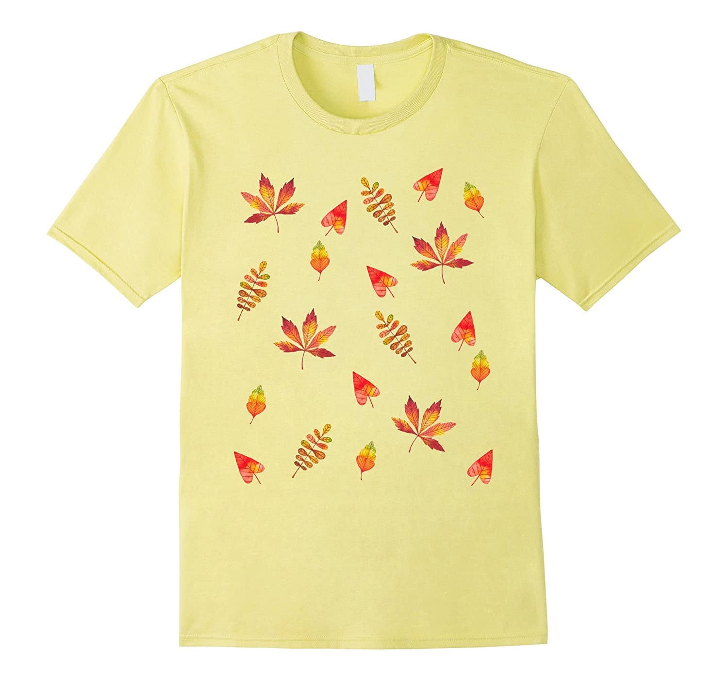 Pretty Fall Leaves T-Shirt-FL