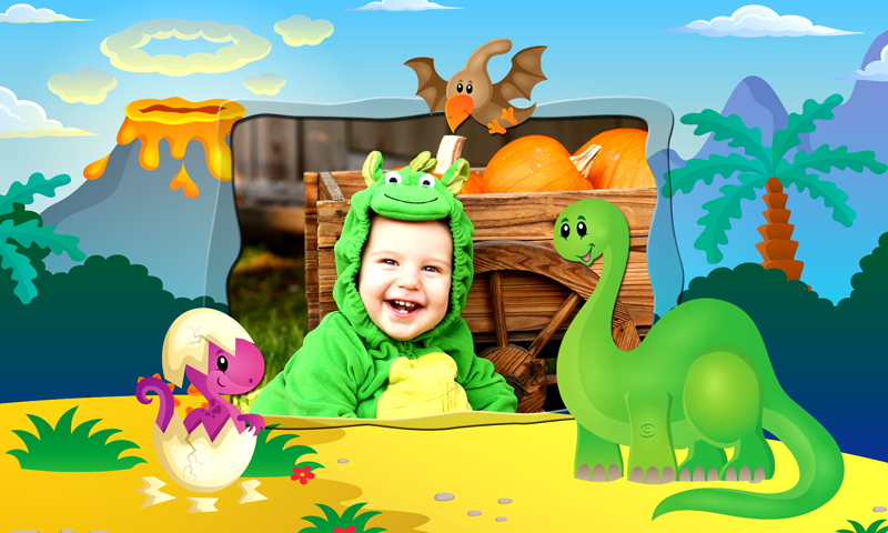 amazon com baby dinosaur photo frames appstore for android