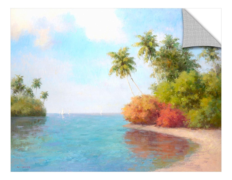 Karen Dupres Coco De La Playa Removable Wall Art Mural 18x24