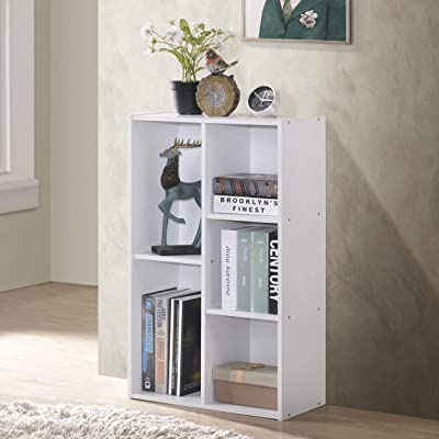 Fortress 5-Cube Reversible Open Shelf (White): Kitchen & Dining