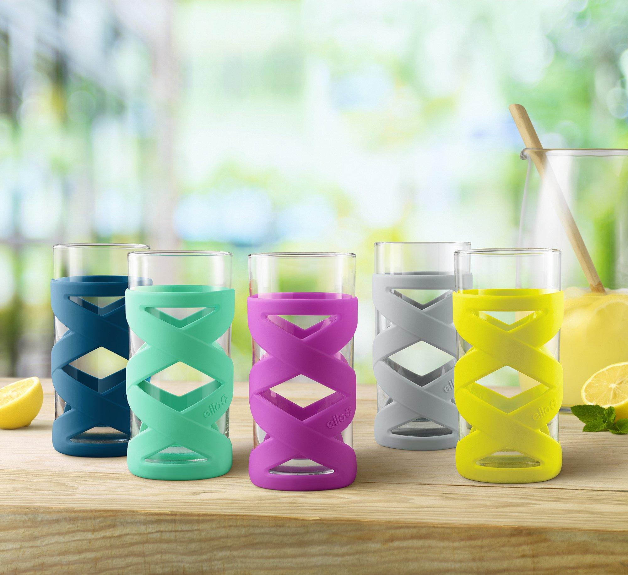 Ello Tallboy 8pc Silicone Glassware Set by Ello (Image #3)