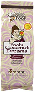The Coffee Fool Coarse Grind Coffee, Fool's Coconut Dreams, 12 Ounce
