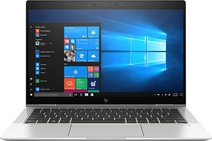 "HP Elitebook X360 1030 G4 13.3"" Touchscreen 2 in 1 Notebook - 1920 X 1080 - Core i7 i7-8665U - 16 GB RAM - 256 GB SSD - Windows 10 Pro 64-bit - Intel UHD Graphics 620 - in-Plane Switching (IPS) T"