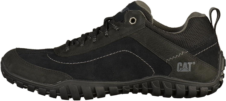 Caterpillar Mens P721362 Arise Black Suede Shoes 45 EU Zhln4nb
