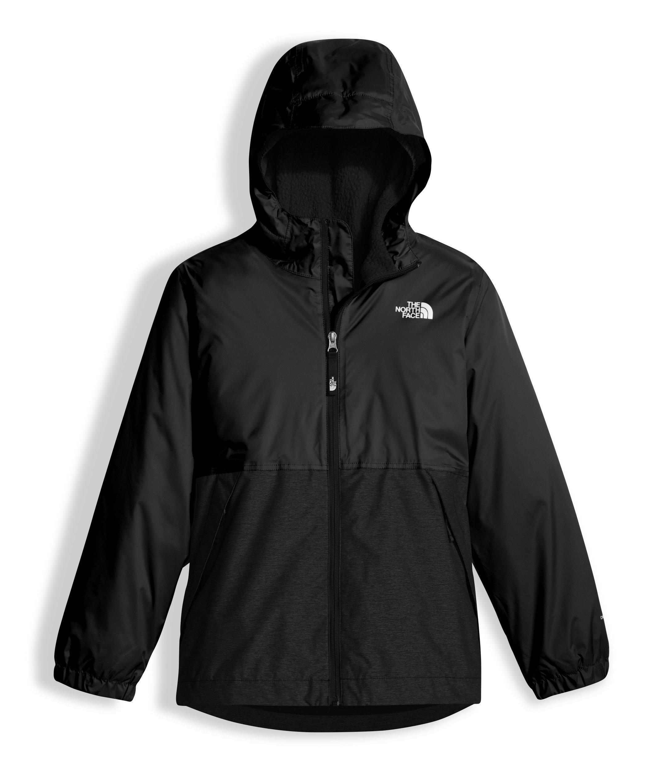The North Face Boy's Warm Storm Jacket - TNF Black - L