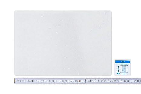 Toppa di riparazione per teloni da semirimorchi 30 cm x 20 cm disponibile in molti colori AUTOADESIVA