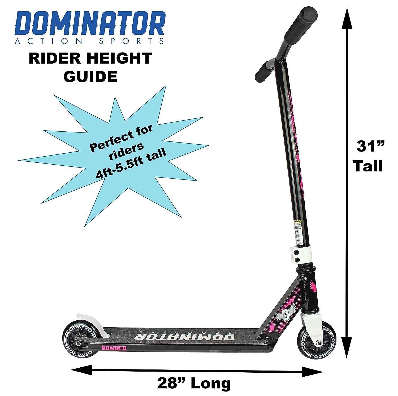 Dominator Bomber Pro Scooter Black