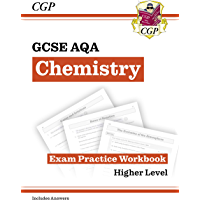 New GCSE Chemistry AQA Exam Practice Workbook - Higher (includes answers) (CGP GCSE Chemistry 9-1 Revision) (English…