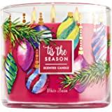 Bath and Body Works White Barn 3-wick Candle 2016 Limited Edition Tis The Season 14.5 Ounce