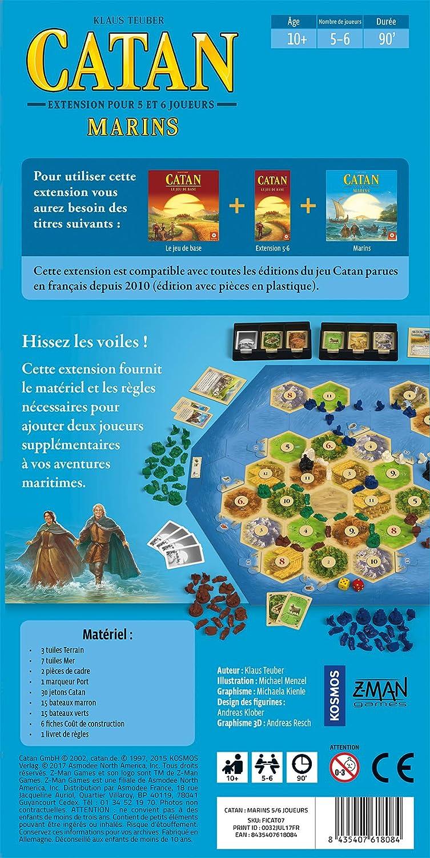 Asmodee – Catan – Extensión Marina 5/6 Jugadores, FICAT07: Amazon.es: Juguetes y juegos