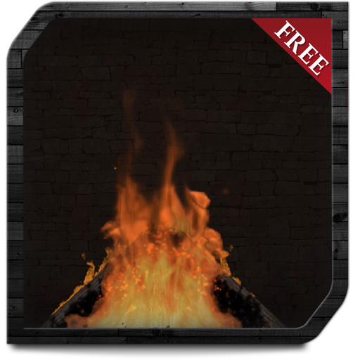 Screen Sleep - Campfire Chimney HD - Enjoy the winter with hot romantic fireplace on your TV Screen
