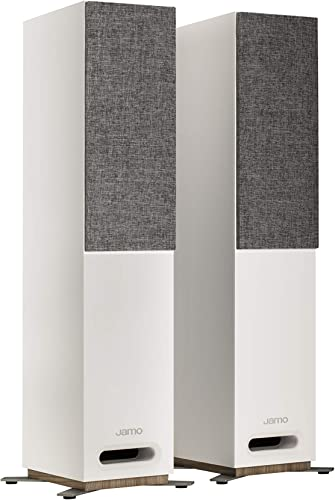 Jamo Studio Series S 805-WH White Floorstanding Speakers – Pair