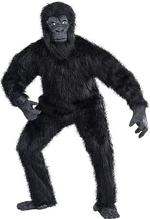 Amscan Internacionales Adultos gorila Costume: Amazon.es: Juguetes ...