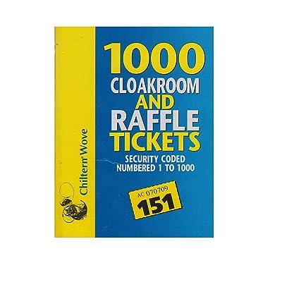 1000 Tiquets para guardarropas y rifas: Electrónica