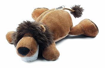 NICI 32399 - Estuche de león de peluche (27 x 8 x 6,5 cm ...
