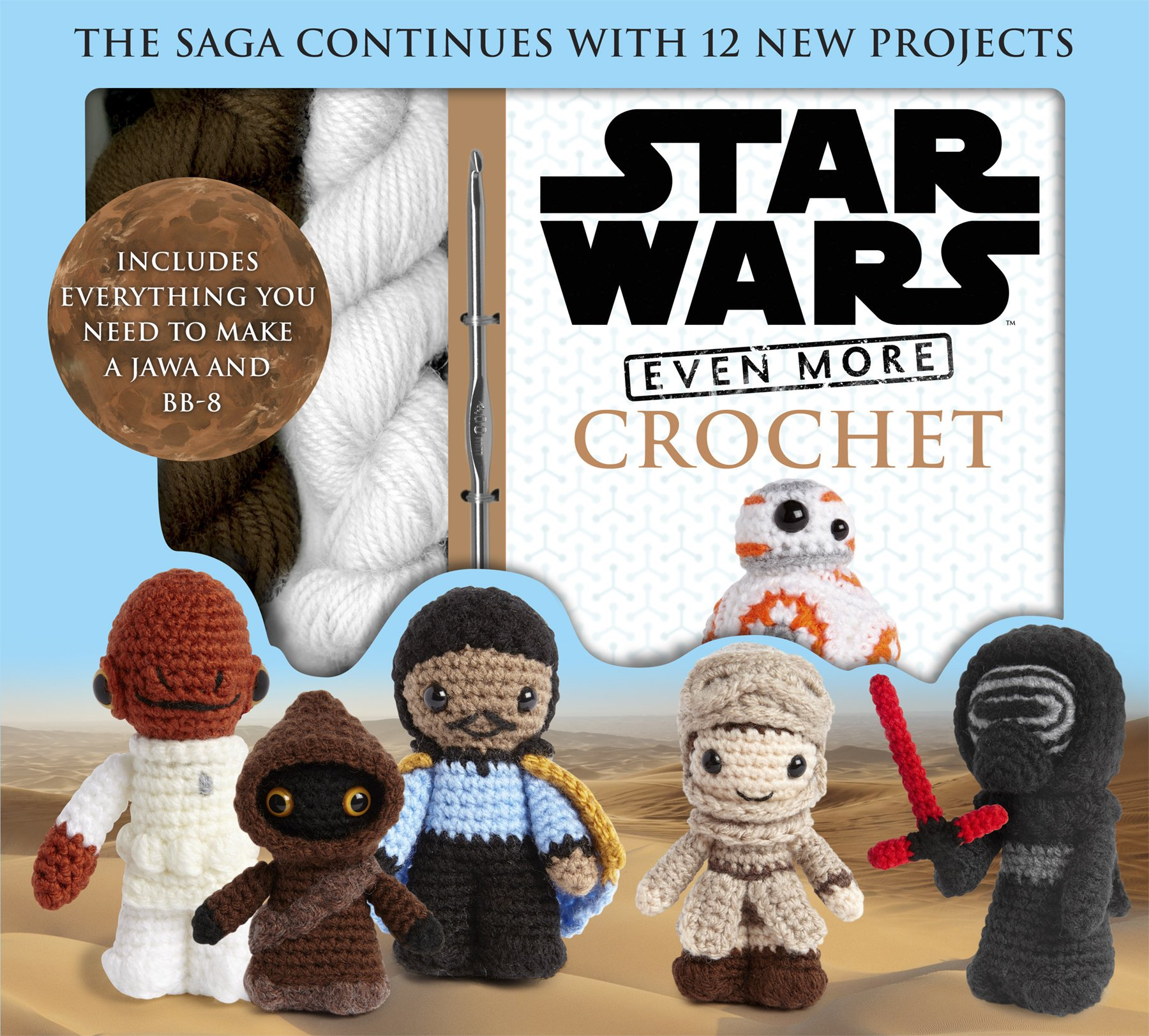 Even More Star Wars Crochet Pack (Star Wars Craft): Amazon.es: Collin, Lucy: Libros en idiomas extranjeros