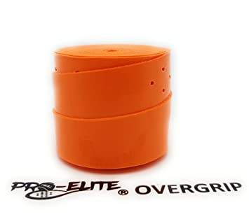Overgrip Pro Elite Confort Perforado Naranja Flúor: Amazon ...