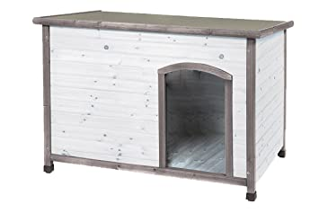 DUVO Caseta para Perro Woodland S Style Cottage: Amazon.es: Productos para mascotas