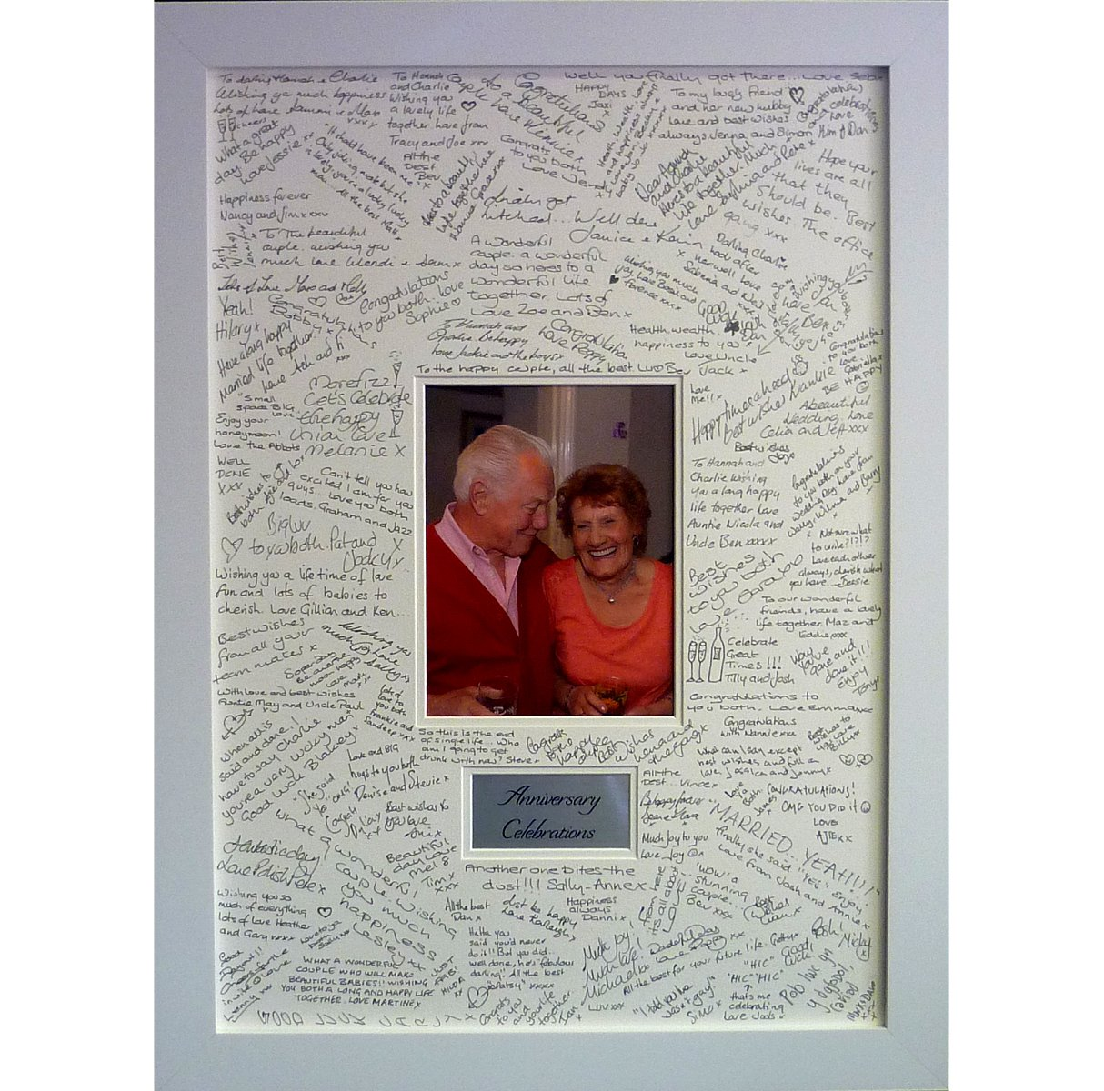 Luxury Special Occasion Guest Book Signing Frame - Contemporary ...
