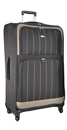 Amazon.com | Aerolite Lightweight Luggage Trolley Suitcases, 4 ...