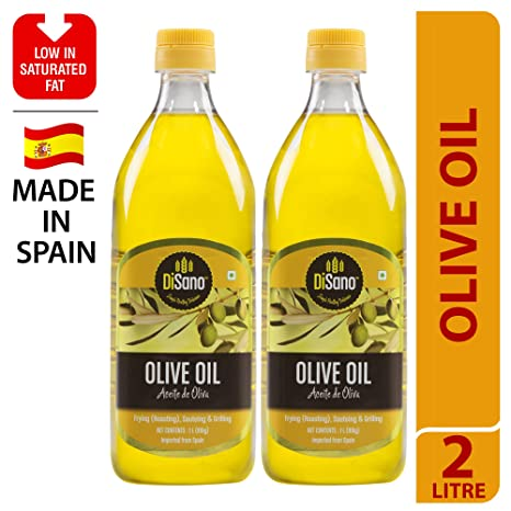 Disano Pure Olive Oil, 1L (Pack of 2)