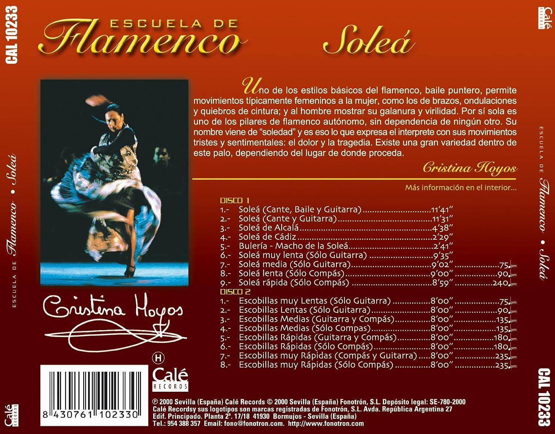 Escuela De Flamenco -Solea -: Various Artists: Amazon.es: Música