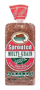 Alvarado St. Bakery, Sprouted Mulitgrain Bread, Organic, 24 oz (Frozen)