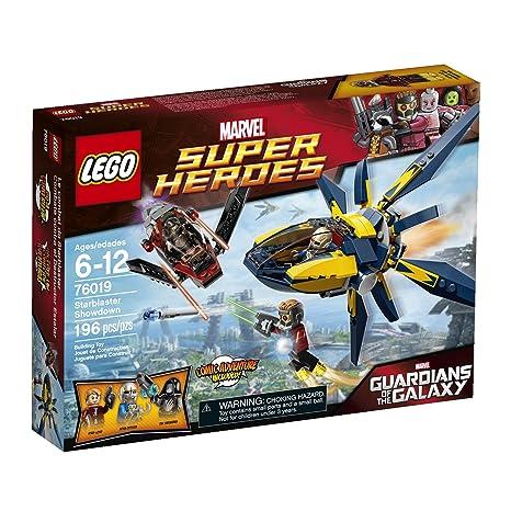 Amazon.com: LEGO Superheroes 76019 Starblaster Showdown Building Set ...