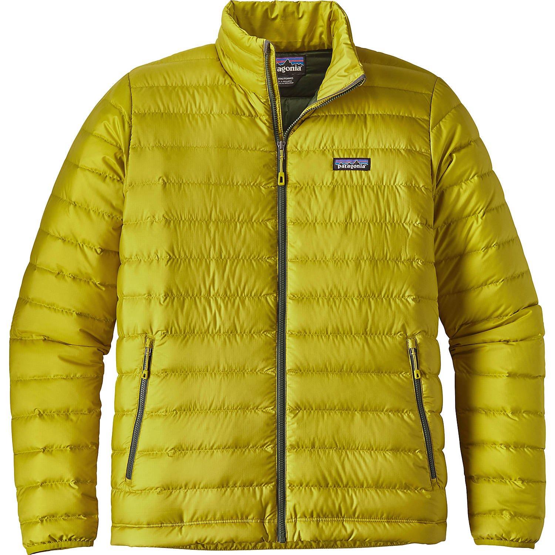 パタゴニア アウター ジャケット&ブルゾン Mens Down Jacket Fluid Gree [並行輸入品] B07536CB3X