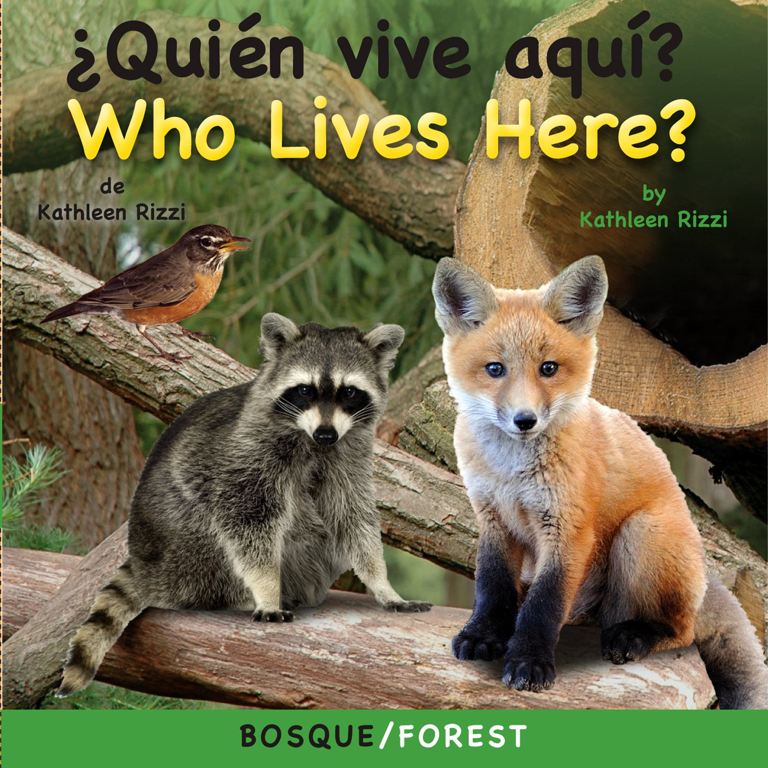 Download Quien Vive Aqui? Bosque/Who Lives Here? Forest (Photoflaps Board Book) (Spanish Edition) (Photoflap Board Books) (Spanish and English Edition) pdf epub