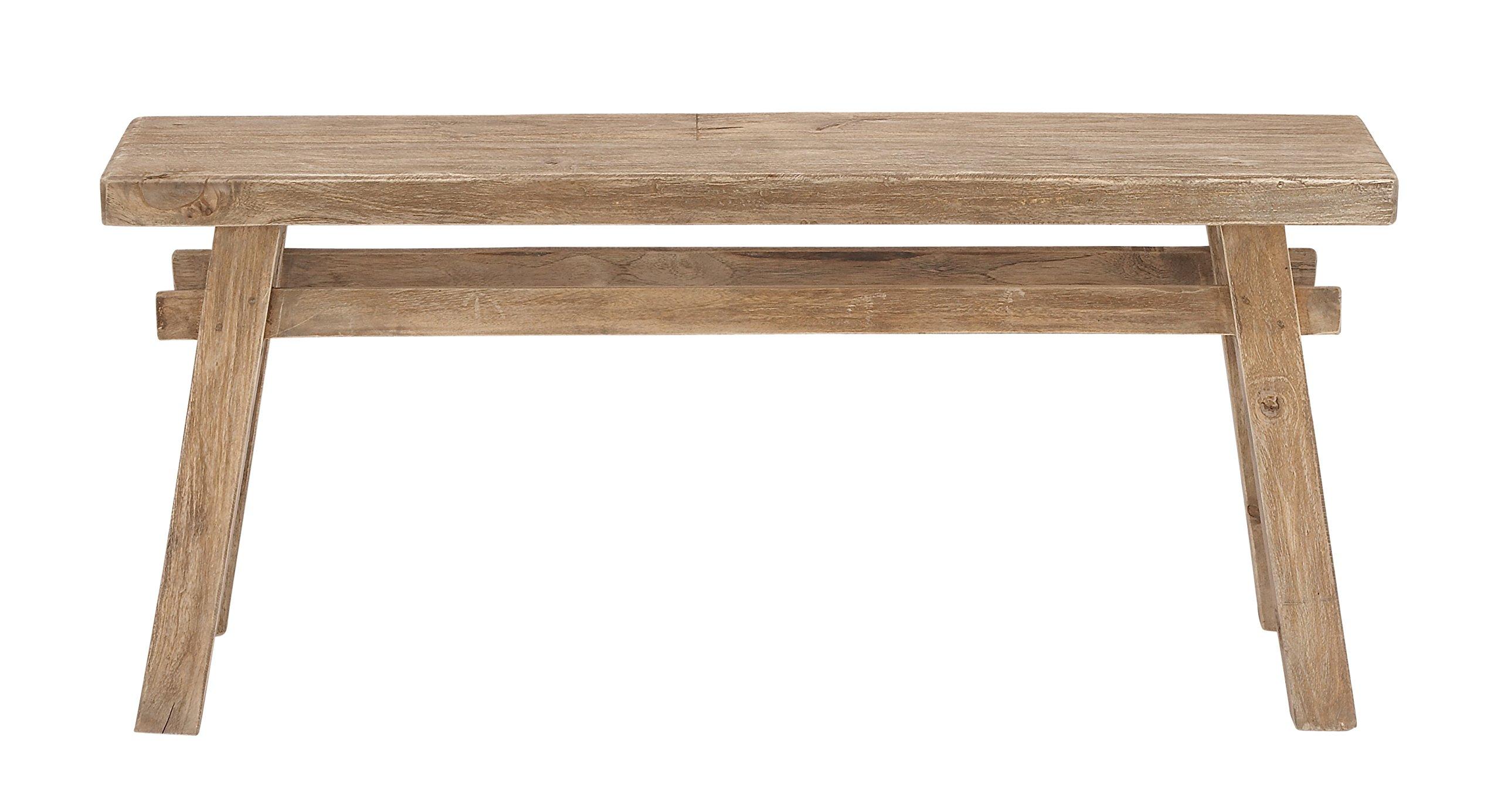 Benzara 45265 Classy Wood Bench
