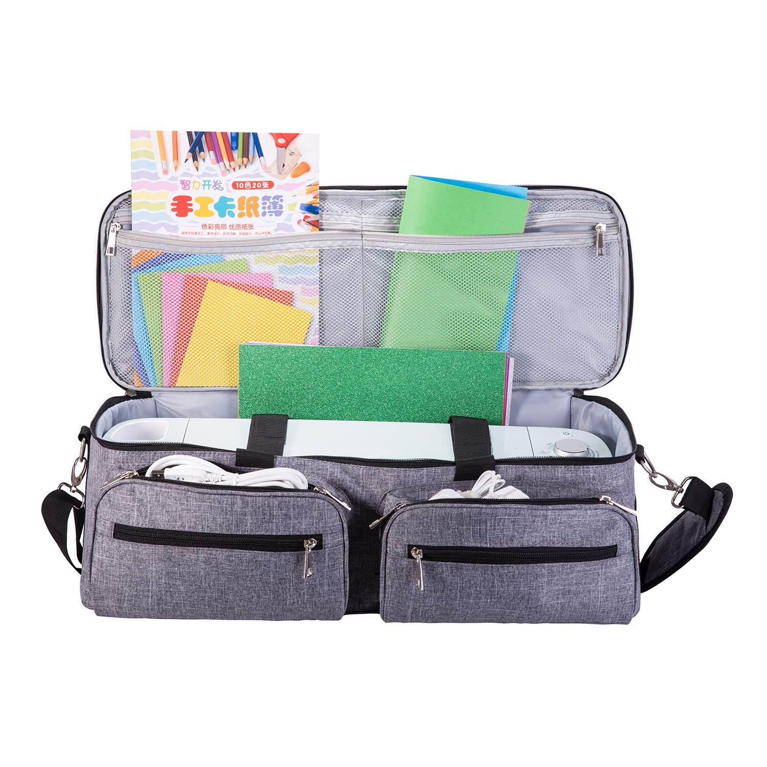 Darkgray Shoulder Bag and Tote Bag Compatible with Explore Air 2 Cut Maker and Die-Cut Machines DYJKOUG Case Bag for DIY Cutting Machine