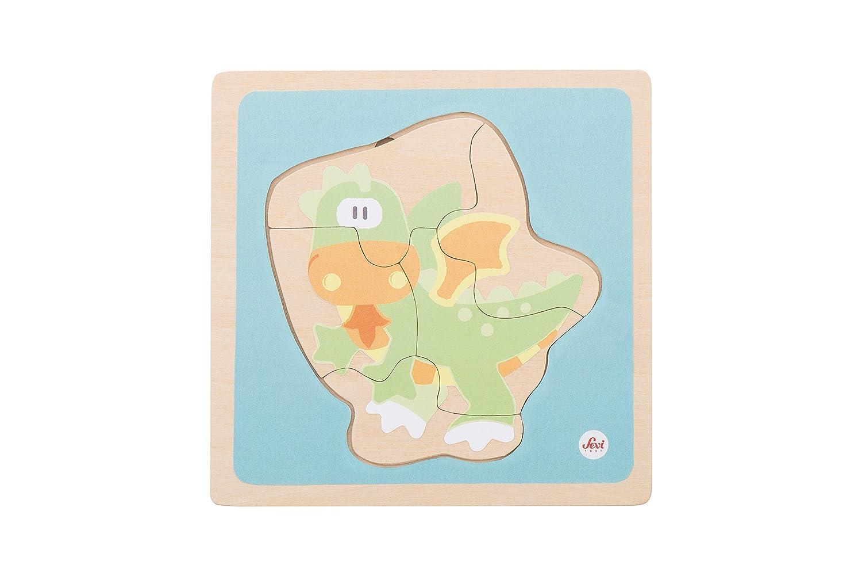Sevi - Puzzle 4 en 1 Dragó, 15 x 2 x 15 cm (Trudi SPA 82953)
