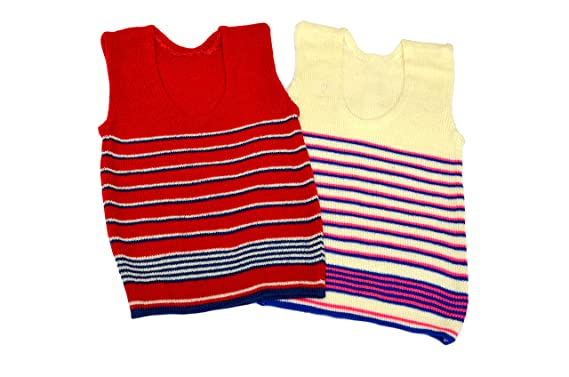 0d066bbc4 Baby Kids Sendo Woolen Vest Inner Wear for Winter Combo
