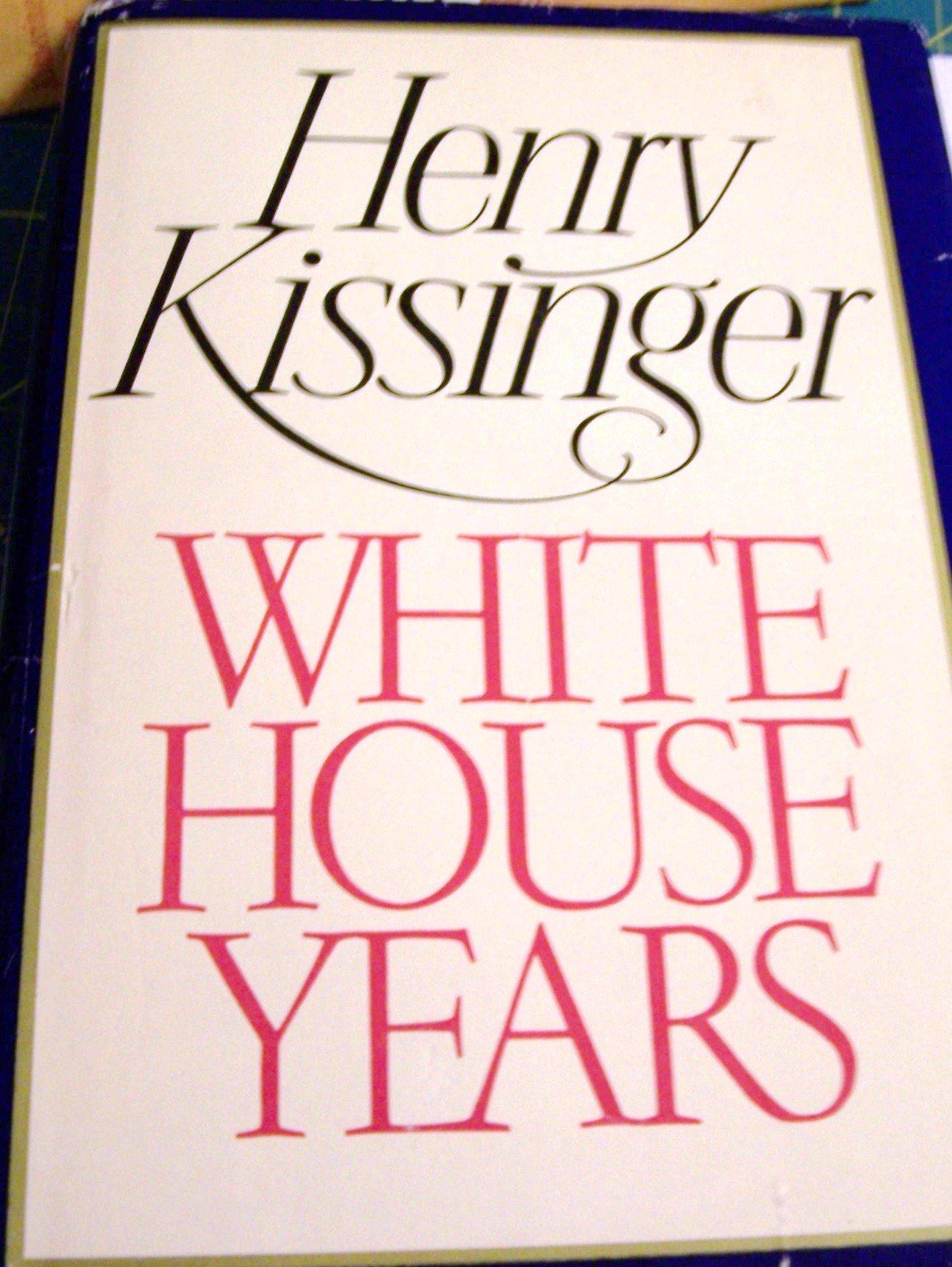 White House Years Henry Kissinger product image