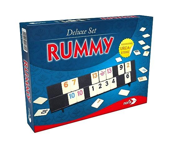 Noris Spiele 606101779 Rummy, Deluxe Set, Familia Parte: Amazon.es ...