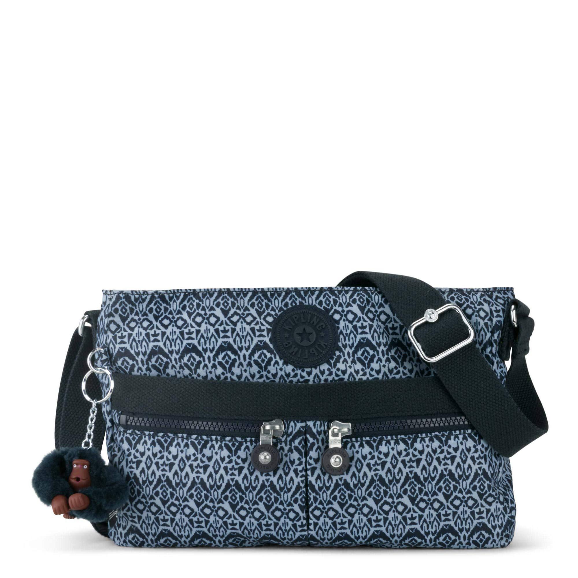 Kipling Angie Printed Crossbody Bag, Geometric Bliss