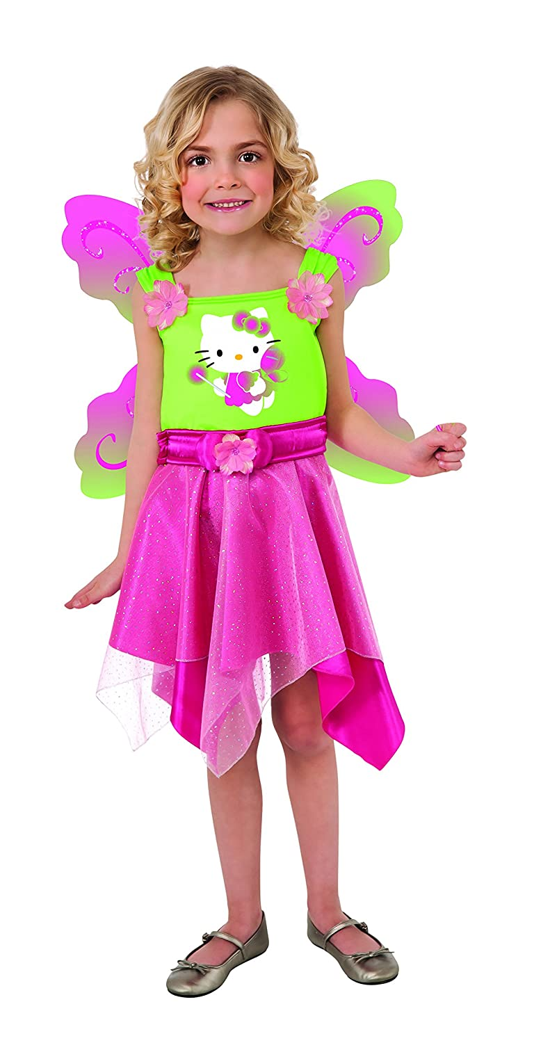 amazoncom hello kitty butterfly fairy costume toddler size toys games - Halloween Hello Kitty Costume