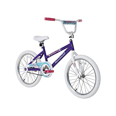 "Dynacraft Magna Spellbound 20"" BMX Bike with Coaster Brake, Spellbound Purple : Sports & Outdoors"