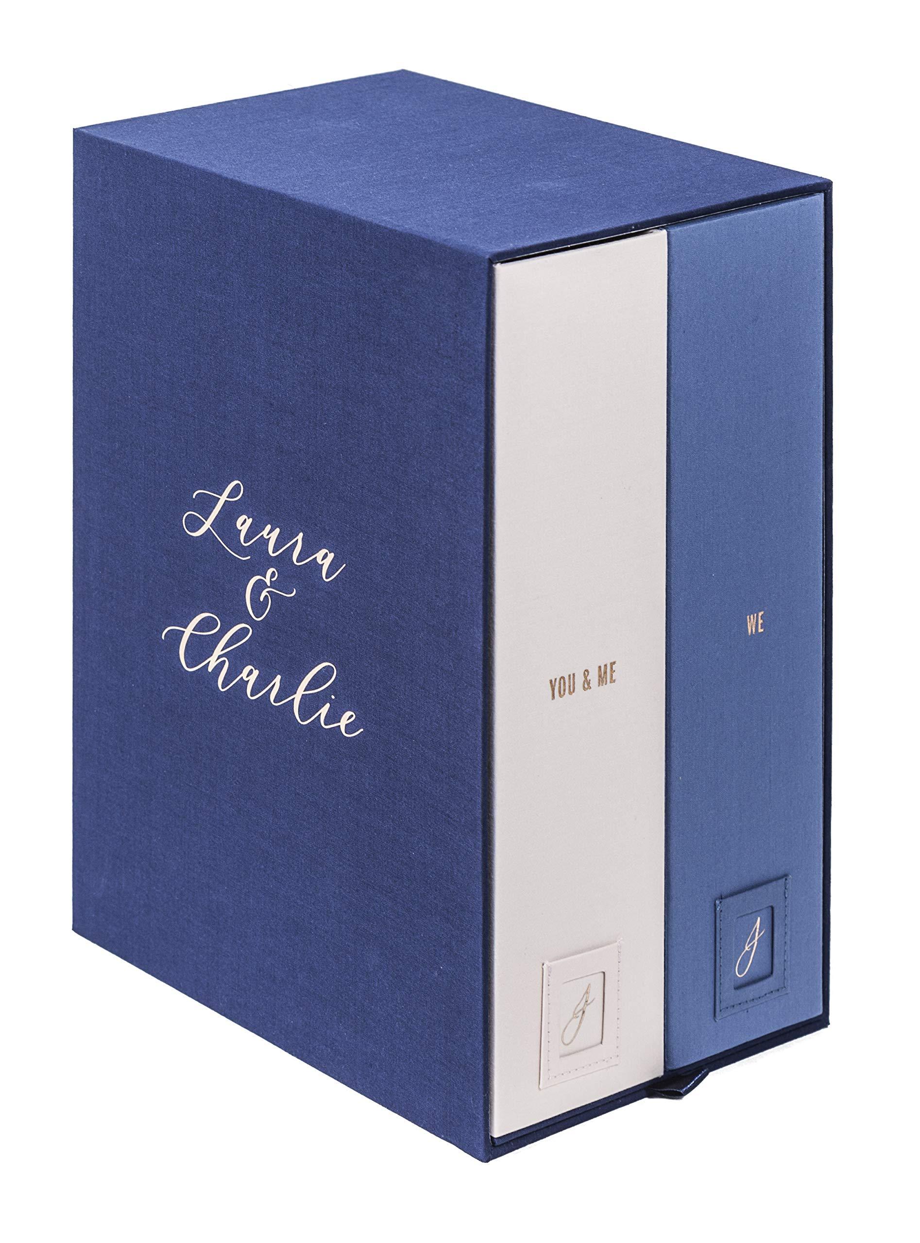 Handwritten Personalized Wedding Keepsake Box-Monogrammed Memory Box-Wedding Shower-Bridal Shower Gift-Engagement Gift-Anniversary Present-Couples Gift-Handmade-Wedding Album-Wedding Card Box-Bl-Laura by Savor