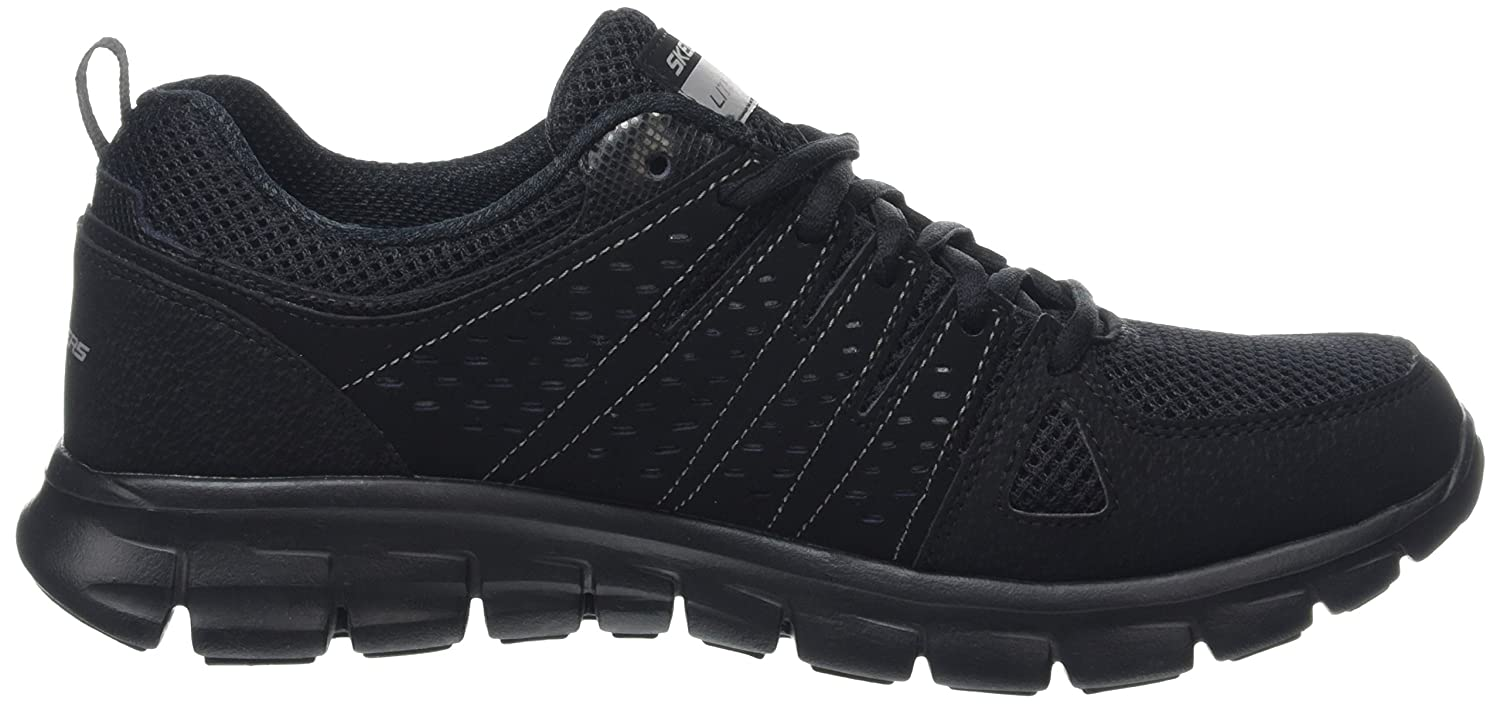 Skechers Sport Women's Synergy Look Book Fashion Sneaker B01B62T95C 6.5 B(M) US|Black