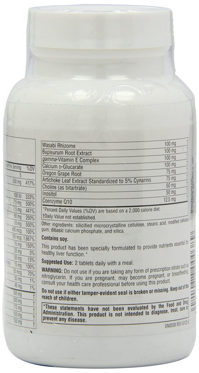 Amazon.com: Source Naturals Liver Guard Silymarin CoQ10 N-Acetyl Cysteine Complex Support - Increase Nutrients- 60 Tablets: Health & Personal Care
