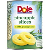Dole, Pineapple Slices in Juice, 20 Oz