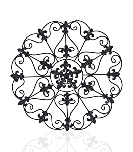 Iron Wall Medallion - Authentic Wall Decor (Single Round)