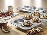 USA Pan 1240HM Bakeware Mini Round Cake and