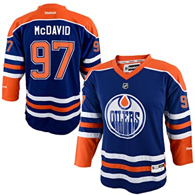 Image Unavailable. Image not available for. Color  Connor McDavid Edmonton  Oilers Blue Infants 12M-24M Reebok Home Replica Jersey bce18fd72