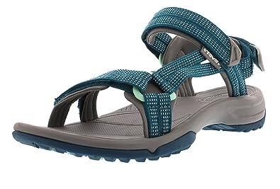 5ad42a8b07614 Teva Womens Terra Fi Lite Sport Sandals Blue 6