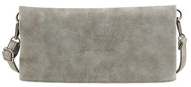 Damen Ronja Quat Business Tasche, Schwarz (Black), 3x15x29 cm Fritzi Aus Preußen