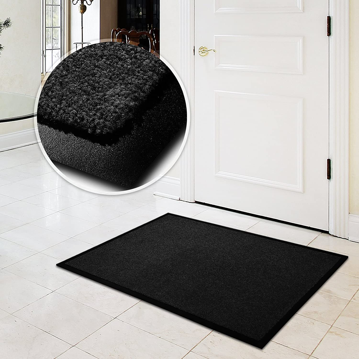 36 x 48 4250953752709 Turquoise casa pura Entrance Mat Europes # 1 Front Door Mat for Home and Business